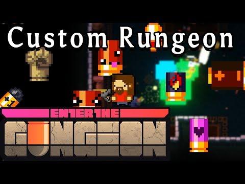 Enter the Gungeon | All Bullet Effects | Custom Rungeon
