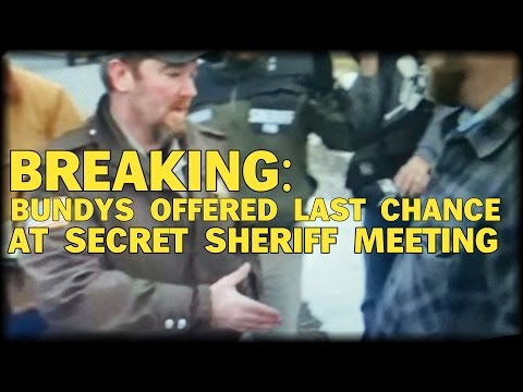 BREAKING: BUNDYS OFFERED 'LAST CHANCE' AT SECRET SHERIFF MEETING