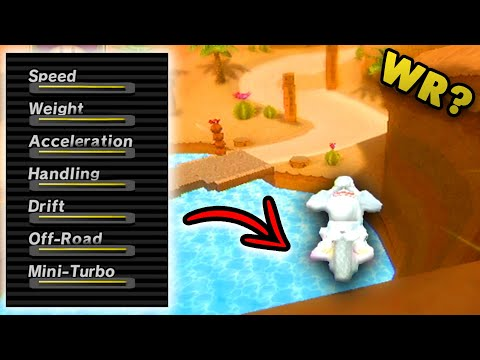 Download Breaking Every Mario Kart Wii World Record In 1 Try? Max Stats, Wii Cups Mp4 baru