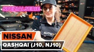Wie NISSAN QASHQAI / QASHQAI +2 (J10, JJ10) Bremssattel Reparatursatz wechseln - Online-Video kostenlos