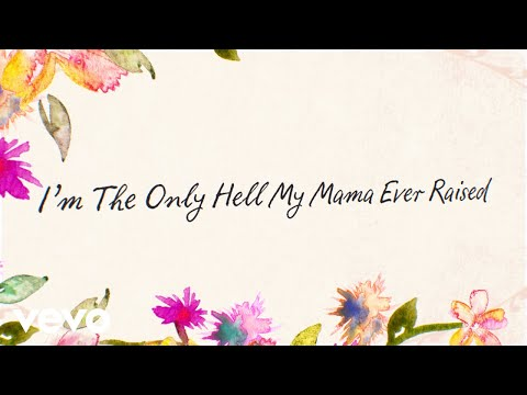 Willie Nelson - I'm the Only Hell My Mama Ever Raised (Official Lyric Video)