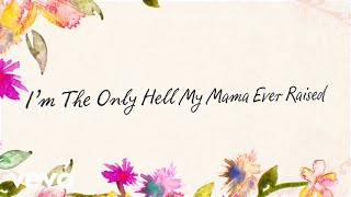 Willie Nelson - Im the Only Hell My Mama Ever Raised (Official Lyric Video) YouTube Videos