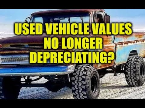 USED VEHICLES NO LONGER DEPRECIATE IN VALUE! WILL PRICES EVER STOP RISING? AUTO PARTS COSTS RISE