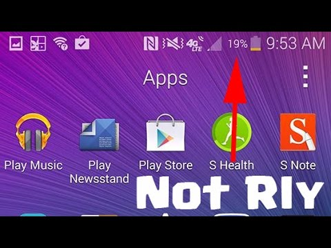 Samsung Galaxy Note 4 How To Fix And Re-Calibrate Your Battery Level