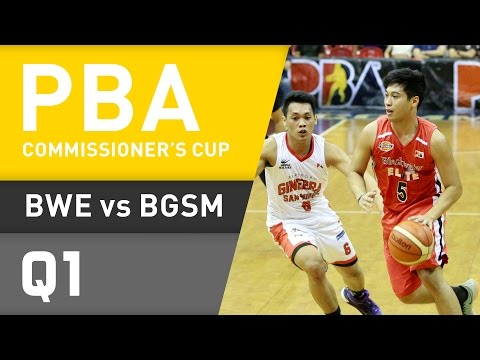 BLACKWATER VS. GINEBRA - Q1 | Commissioner