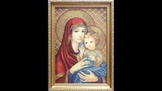 Мадонна з немовлям у червоному//БС Солес
