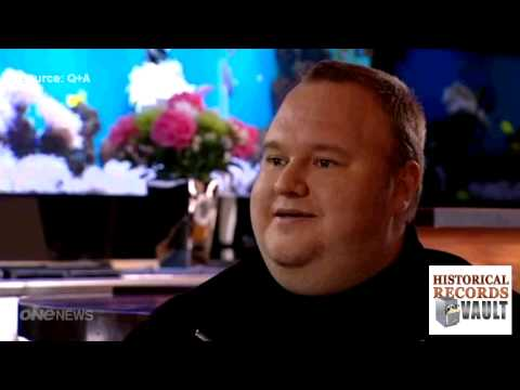 Kim Dotcom Interview With Paul Holmes On Q & A (part 1)