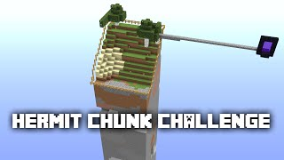 Minecraft: Hermit Chunk Survival Challenge - 5 - BEST FISH FARM ON YOUTUBE ✔