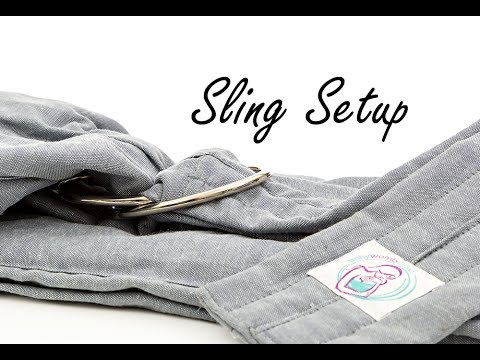 c8fe654c545 BabyWombWorld Ring Sling - How to thread your sling - YouTube