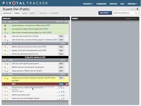 Webinar: Getting Agile with Pivotal Tracker