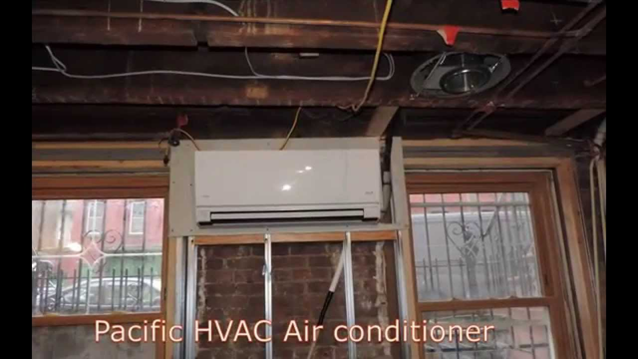 Fujitsu Ductless Air conditioning - HVAC Installation of Multi zone ...