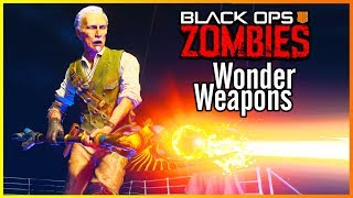 RANKING EVERY WONDER WEAPON IN COD BO4 ZOMBIES FROM WORST TO BEST!!! (#11311 will shock you!)