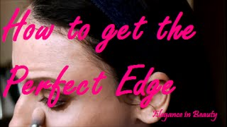 Easy tip to get the perfect eyeshadow edges everytime! Thumbnail
