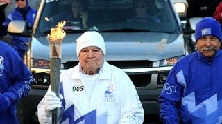 Fr. Ted Hesburgh Olympic Torch Run