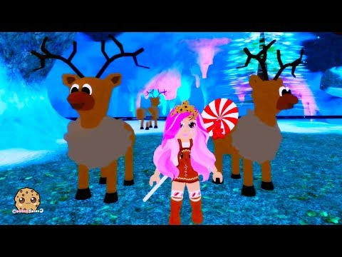 I Visit Christmas Village In Royal High Let's Play Roblox Online Game Video