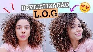 A MELHOR REVITALIZAÇÃO PRO DAY AFTER - cachos soltinhos e definidos!