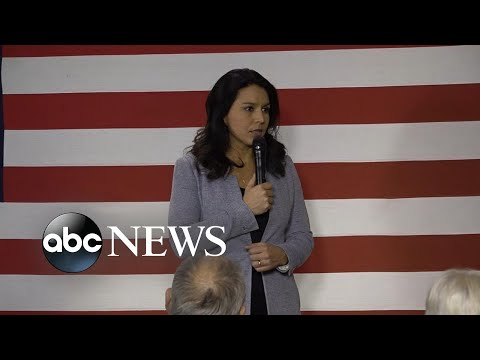 Gabbard files defamation lawsuit against Hillary Clinton | ABC News