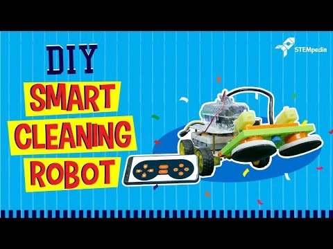 How to Make Your Own Smart Cleaning Robot at Home | DIY Projects