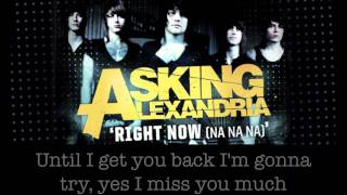 Repeat youtube video Asking Alexandria - Right Now (Na Na Na) - (Akon cover)