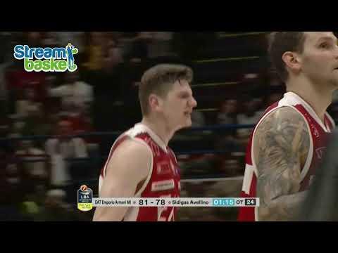 19.11.2017  Legabasket  MILANO - AVELLINO  92 - 94  dts