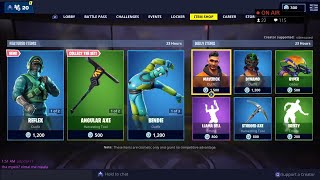 *NEW* REFLEX & INSTINCT (NVIDIA) Skins - March 3rd Fortnite Daily Item Shop LIVE