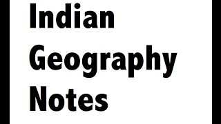 Deserts of the world - Geography Notes for SSC CGL / CHSL / FCI
