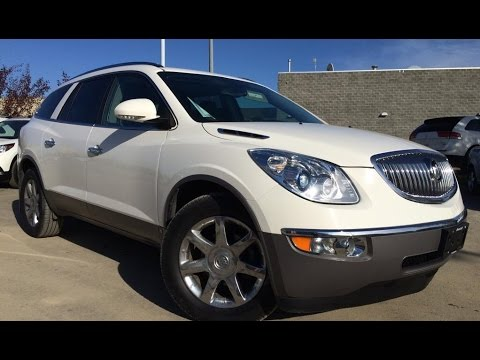 Lexus Pre Owned >> Pre Owned White 2010 Buick Enclave AWD CXL2 In Depth Review | Bonnyville Alberta - YouTube