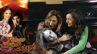 Fuego en la sangre - Capítulo 148: El funeral de Gabriela Acevedo | Tlnovelas