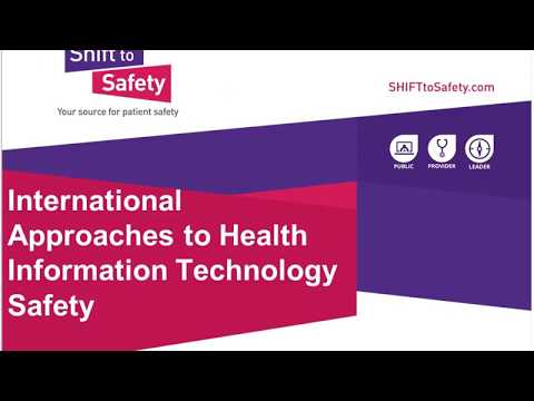 International Approaches to Health Information Technology Safety