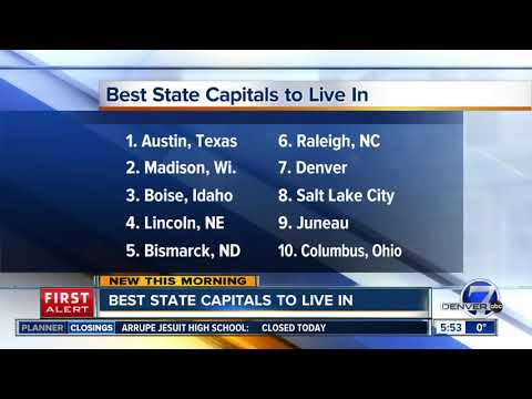 Best Capital cities to live in