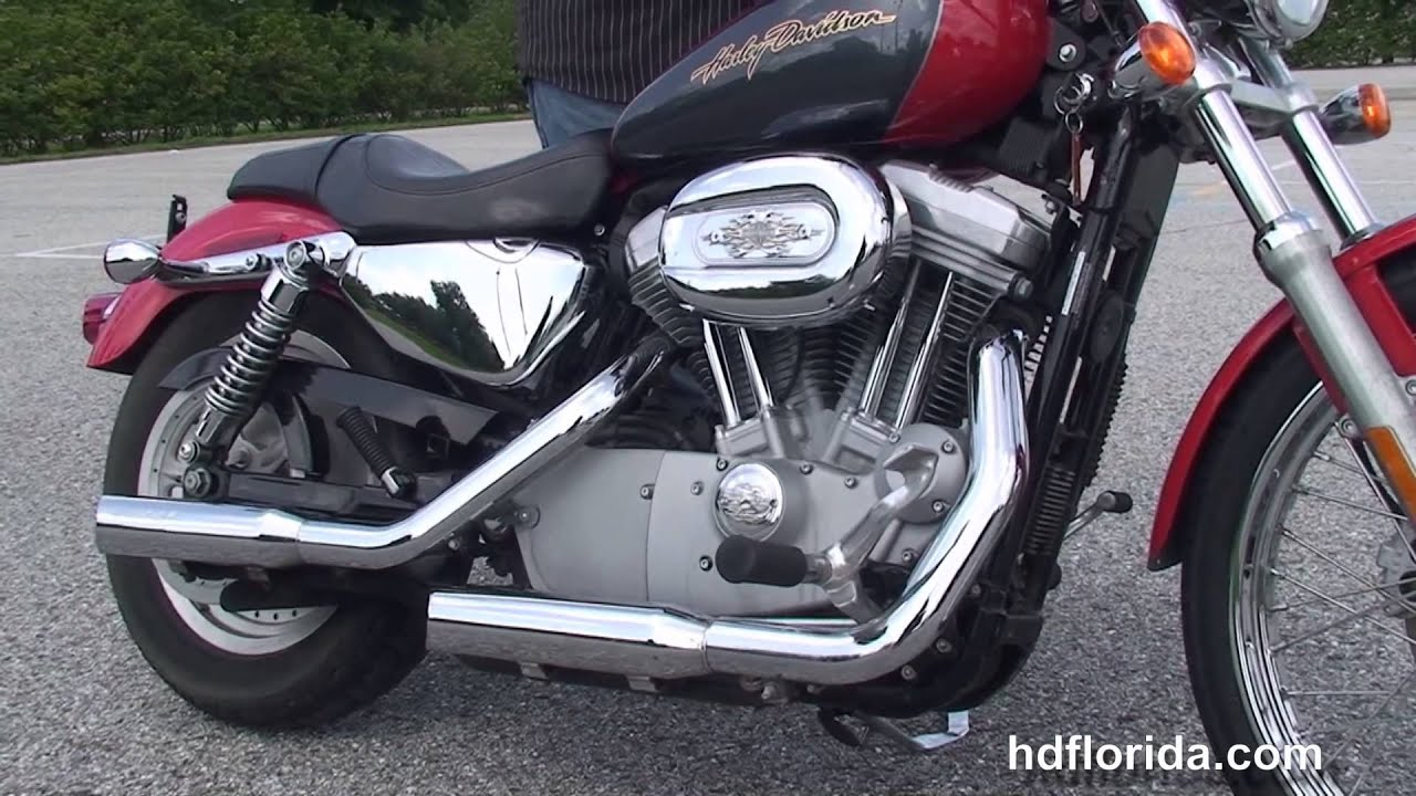 used 2006 harley davidson sportster 883 custom motorcycles for sale ft lauderdale youtube. Black Bedroom Furniture Sets. Home Design Ideas