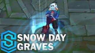 Snow Day Graves Skin Spotlight - Pre-Release - League of Legends