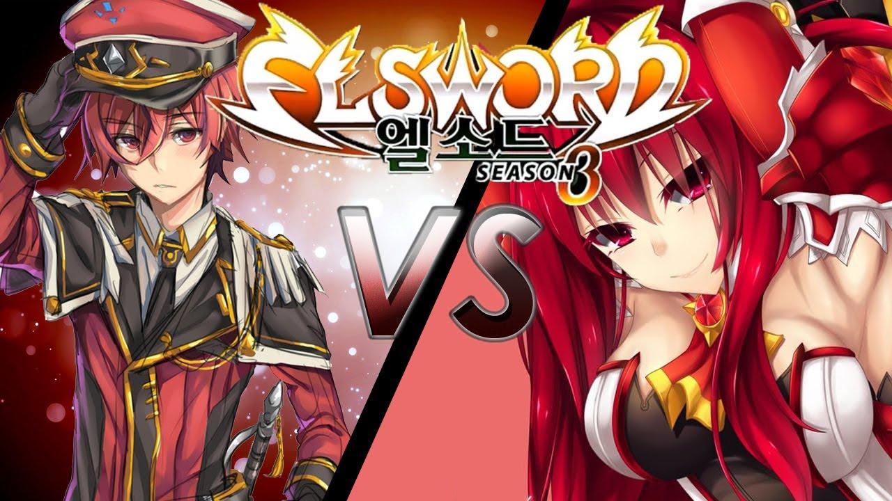 Elsword 엘소드 Na Ep83 Lord Knight Vs Grand Master Armageddon