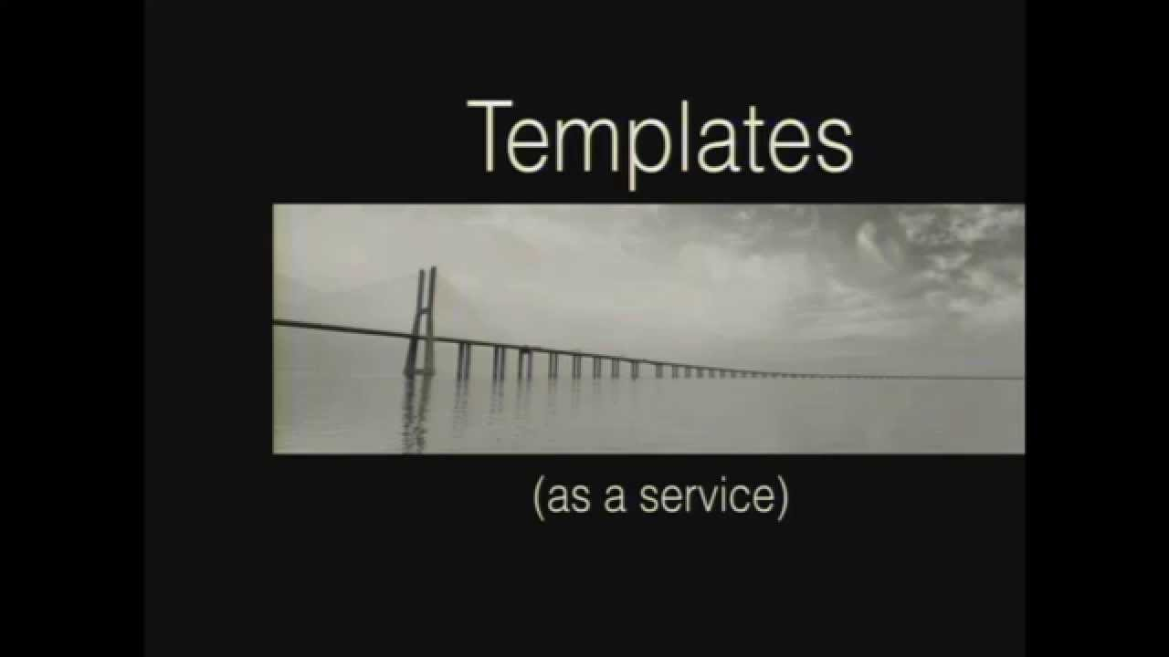 Logan Bell - Templates as a service - with swig.js - YouTube