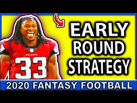 2020 Fantasy Football Draft Strategy | Early Round Fantasy Football 2020