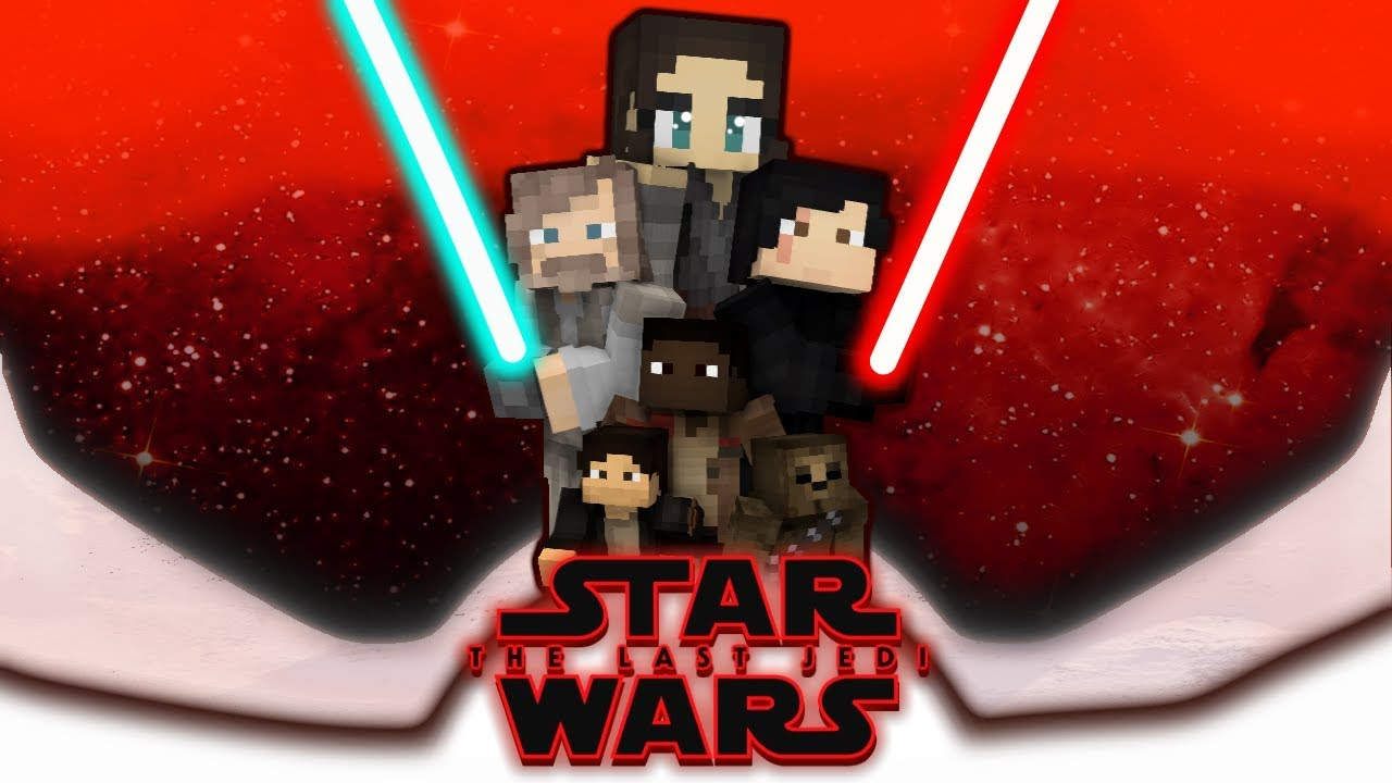 Star Wars The Last Jedi Minecraft Skin Pack Release DOWNLOAD YouTube - Skin para minecraft pe rey