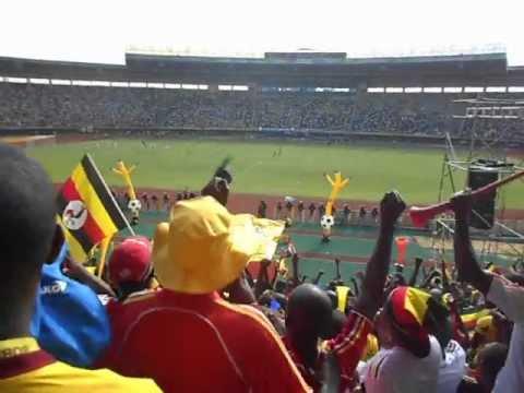 First goal celebrations for the Uganda Cranes vs Congo Brazzaville ( 16-06-2012 )