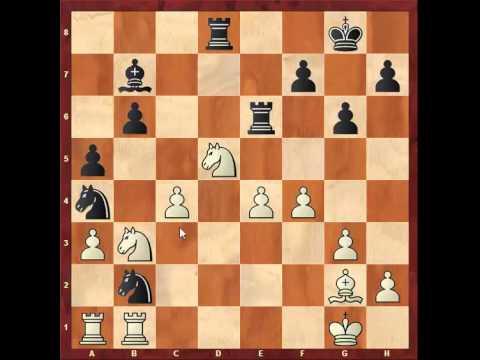 Chess: Susan Polgar 2430 - Jonathan  Speelman 2530, Queen's Indian  http://sunday.b1u.org