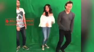 Shraddha Kapoor and Tiger Shroff Dances Like Crazy On Cham Cham #BAAGHI