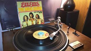 """Bee Gees - Too Much Heaven - 1978 (Single 7"""")"""