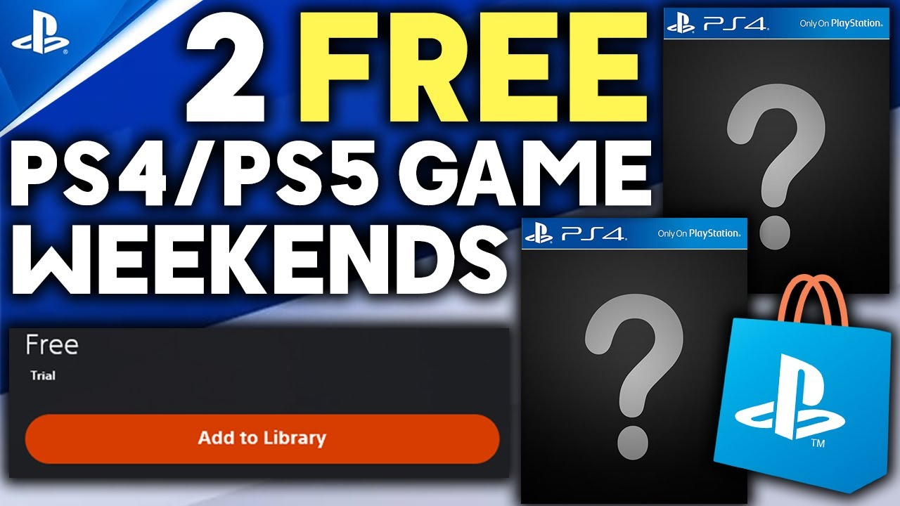 Download 2 FREE PS4/PS5 GAME WEEKENDS + GREAT GAME DEALS ON PS4/PS5 AND SWITCH GAMES!