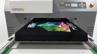 Принтер для печати на футболках и одежде DTG VIPER II(Струйный принтер DTG для печати на футболках, крое трикотажа при производстве взрослой, спортивной и детской..., 2015-07-03T19:52:26.000Z)