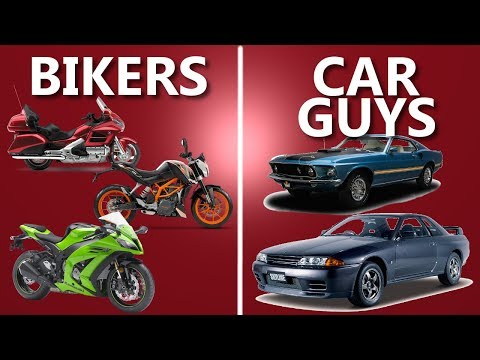 Download Youtube: 6 Things Car Guys and Bikers Have in Common