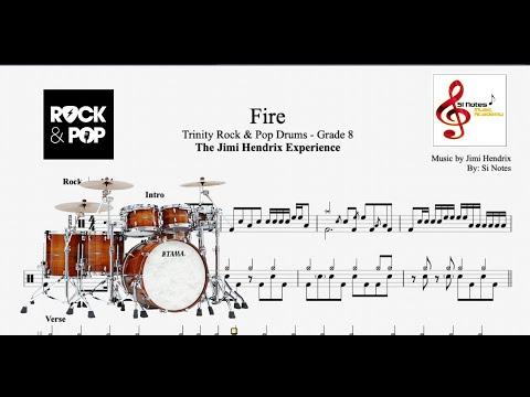 Fire - Jimi Hendrix - Trinity Rock & Pop Drums - Grade 8