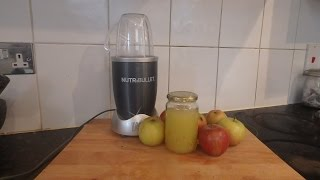 Nutribullet Apple Juice