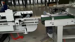 SPC flooring cutting