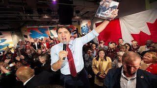Justin Trudeau on the campaign trail | Day 33
