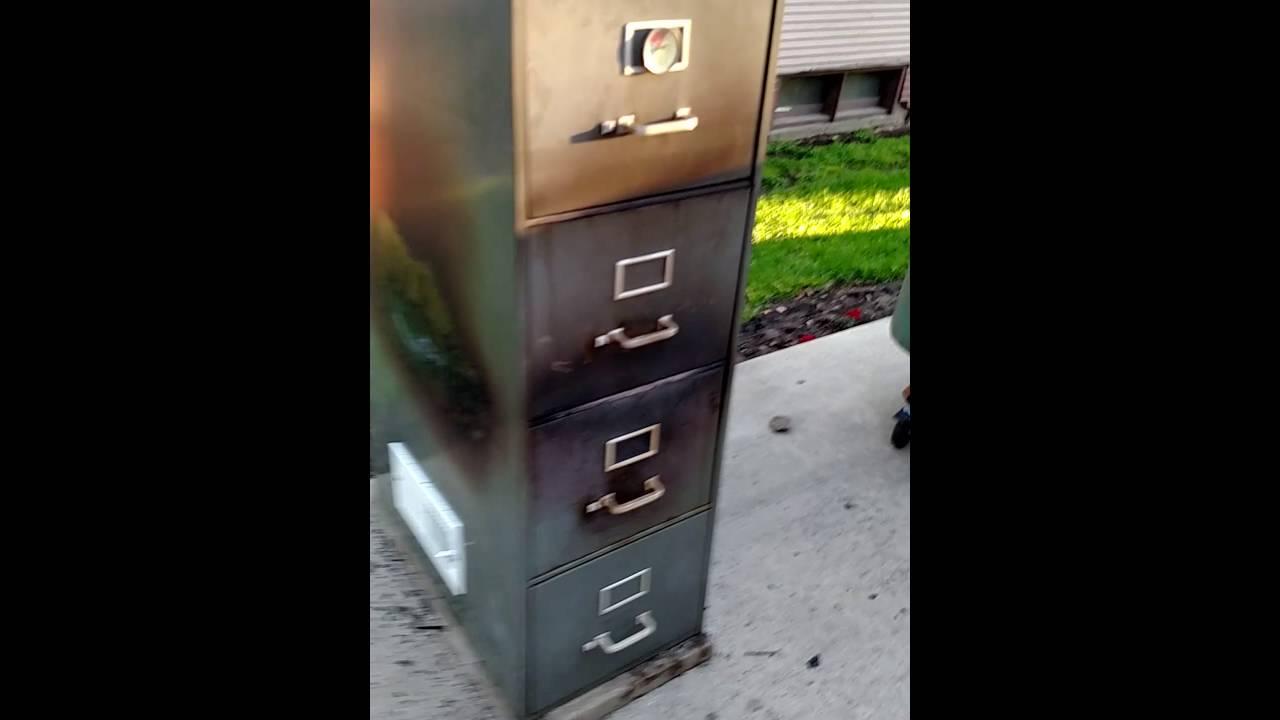 5 Drawer File Cabinet Smoker