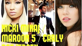 "Maroon5 "" SUGAR ""- Ft. Nicki Minaj & Carly Rae Jepsen(MASHUP)"