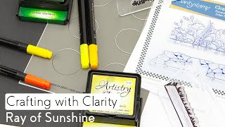 Stamping How To - Ray Of Sunshine